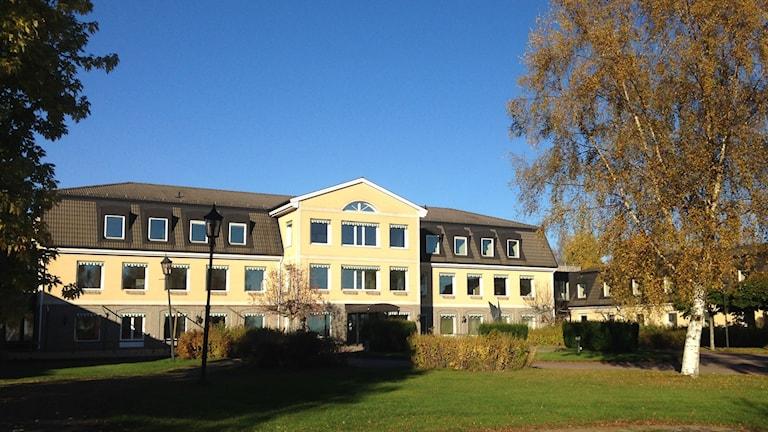 Före detta hotell Selma Lagerlöf. Foto: Robert Ojala/Sveriges Radio