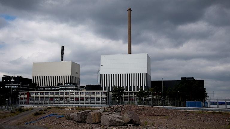 Kärnkraftverket i Oskarshamn. Foto: Adam Ihse/TT