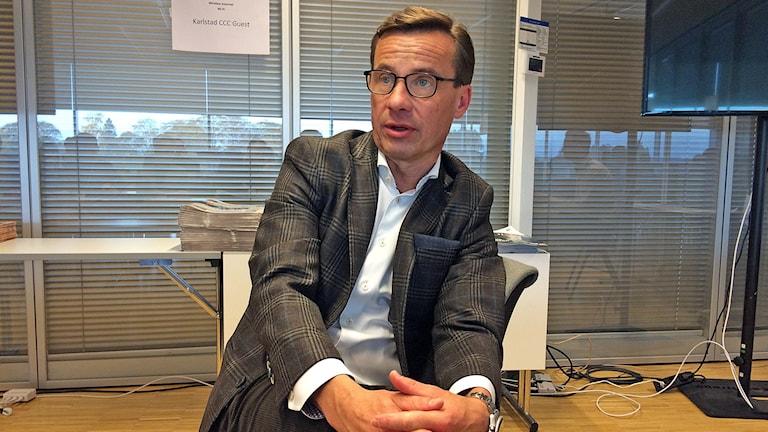Ulf Kristersson, ekonomisk-politisk talesperson Moderaterna Foto: Örjan Bengtzing/Sveriges radio.