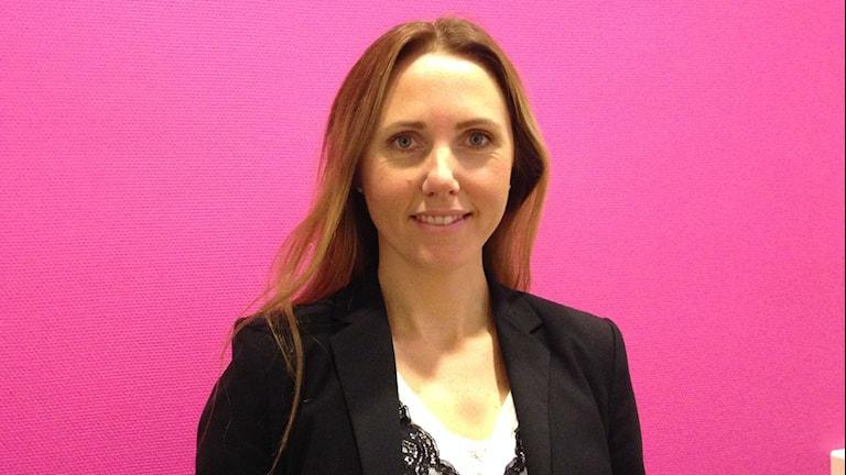 Jessica Fong, konsumentrådgivare i Karlstad. Foto: Robert Ojala/Sveriges Radio