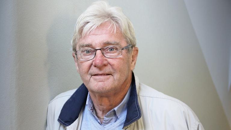 Ingvar Karlsson. Foto: Lars-Gunnar Olsson/Sveriges Radio.