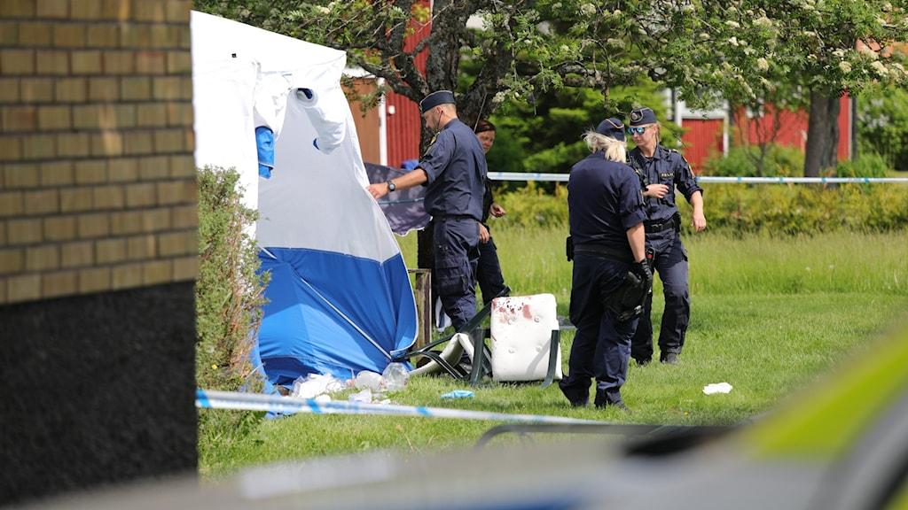 Kvinna attackerad i Väse. Foto: Örjan Bengtzing/Sveriges Radio