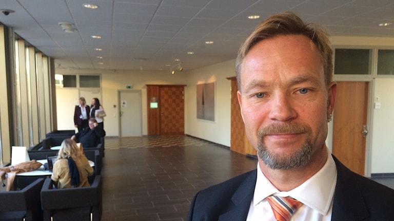 Ismo Salmi, advokat. Foto: Jenny Tibblin/Sveriges Radio