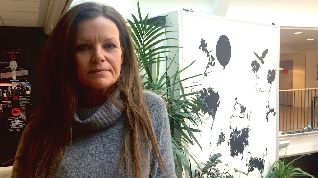 Tina Bengtsson, personalstrateg i Torsby kommun. Foto: Annika Ström/Sveriges Radio