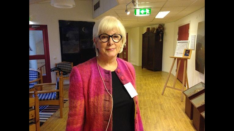 Eva Vingård professor i arbets- och miljömedicin vid Uppsala universitet.