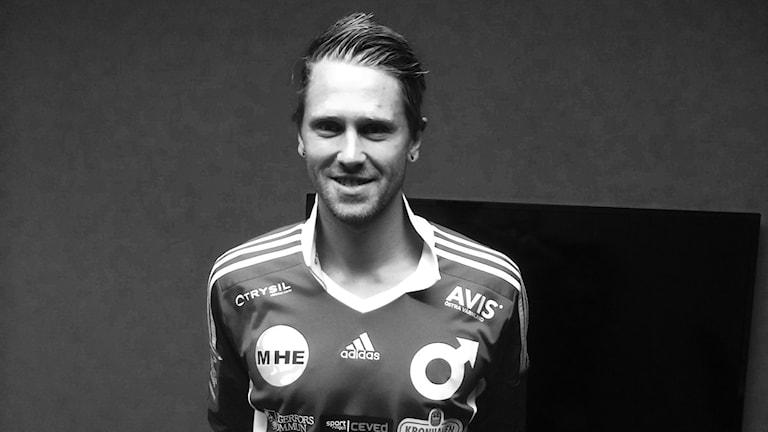 Norske anfallaren Magnus Solum är Degerfors IF:s senaste nyförvärv. Foto: Degerfors IF.