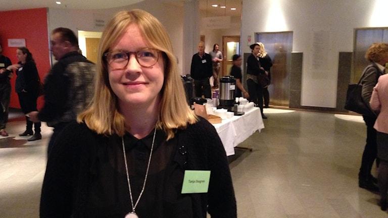 Tanja Ekegren. Foto: Robert Ojala/Sveriges Radio