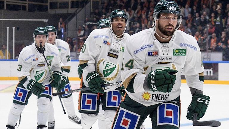 FBK-spelare. Foto: Patric Söderström/TT