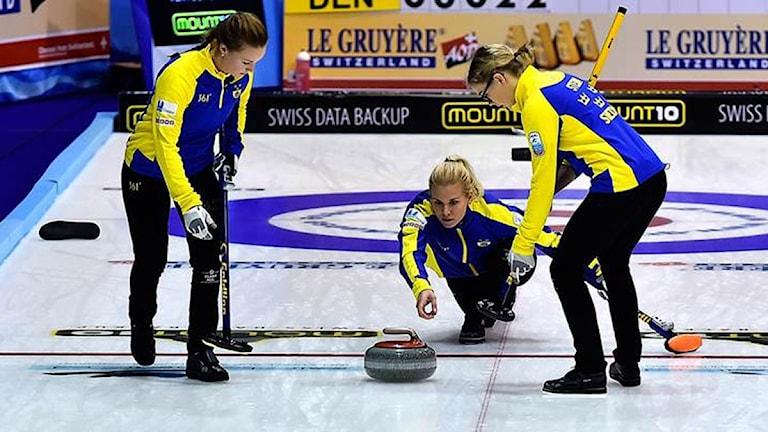 Lag Cissi Östlund. Foto: © WCF