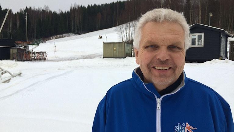 Stefan Ranunger, Ski Sunne. Foto: Jenny Tibblin/Sveriges Radio