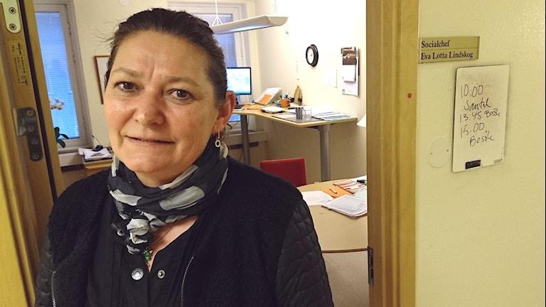 Eva Lotta Skoglund. Foto: Frida Jansson Högberg/Sveriges Radio