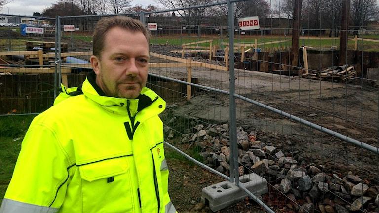Bror Persson, projektledare på Karlstads kommun. Foto: Albin Norén/Sveriges Radio
