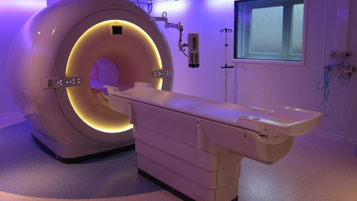 Magnetröntgenkameran i Arvika. Foto: Christian Sand