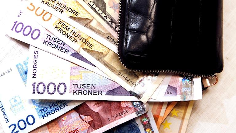 norsk krona pengar