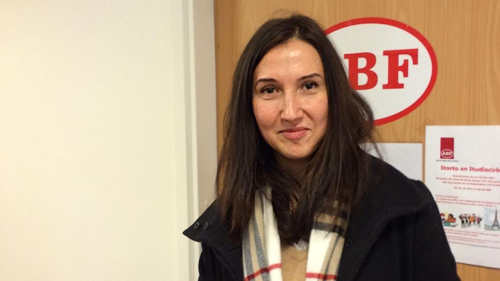 Aida Hadzialic. Foto: Per Larsson/Sveriges Radio