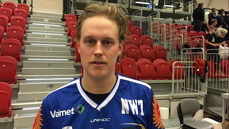 Tom Colling. Foto: Daniel Viklund / Sveriges Radio.