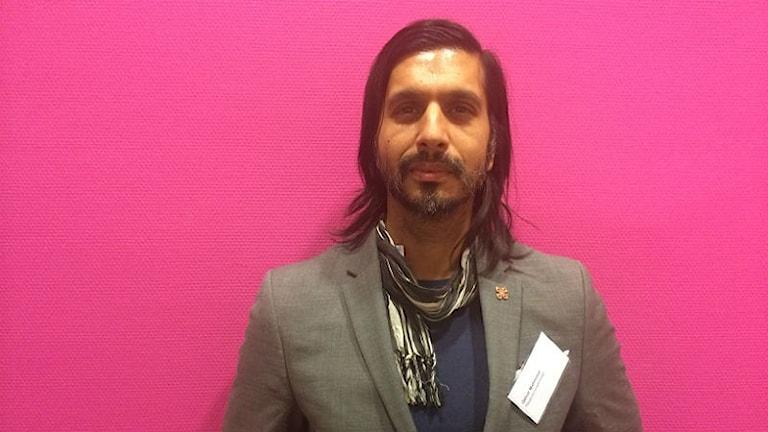 Qaisar Mahmood,  avdelningschef på Riksantikvarieämbetet, författare och debattör. Foto: Malin Kling Uddgren