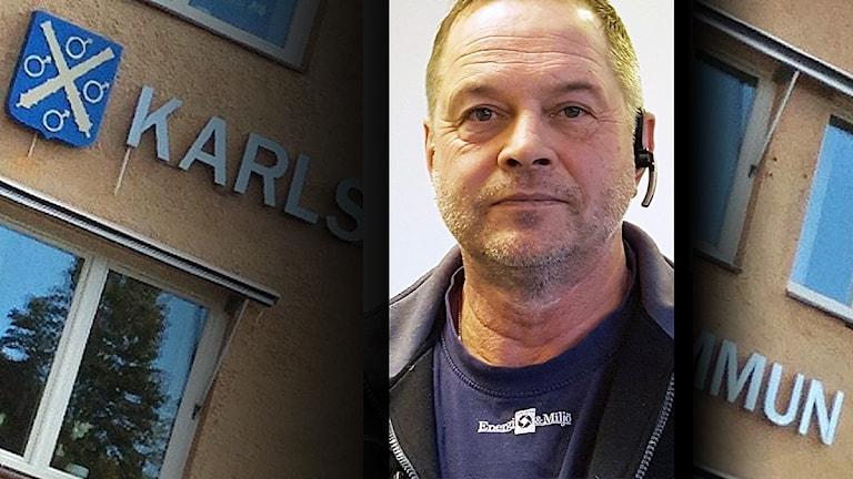 Jan Lund, viltvårdare Karlskoga kommun. Foto: SR/Privat.