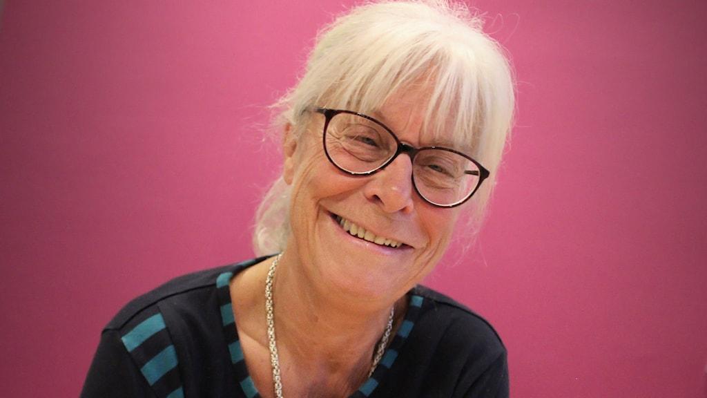 Irene Johansson. Foto: Lars-Gunnar Olsson/Sveriges Radio.