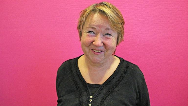 Åse-Britt Falch. Foto: Jonas Hansson/Sveriges Radio.