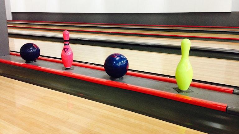Bowlingbanor. Foto: Ylva Vesterlund / Sveriges Radio