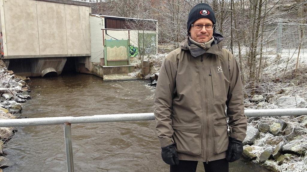 Olle Calles, biolog. Foto: Robert Ojala/Sveriges Radio.