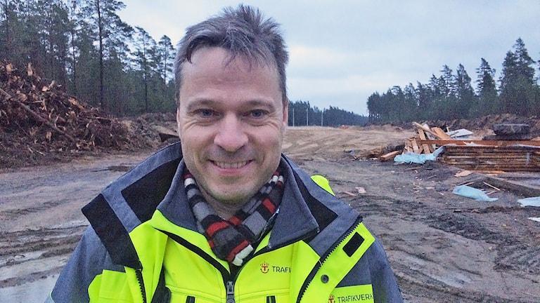 Martin Bergvall. Foto: Jenny Tibblin/Sveriges Radio.