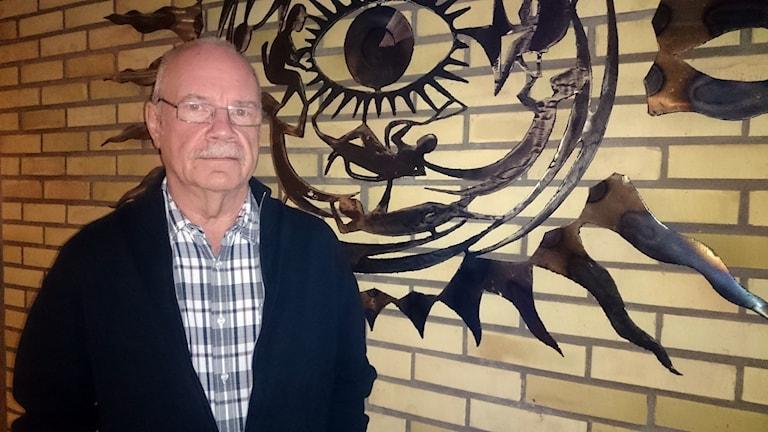 Jan Westberg, rektor för Kulturskolan i Filipstad. Foto: Jenni Jansson/Sveriges Radio