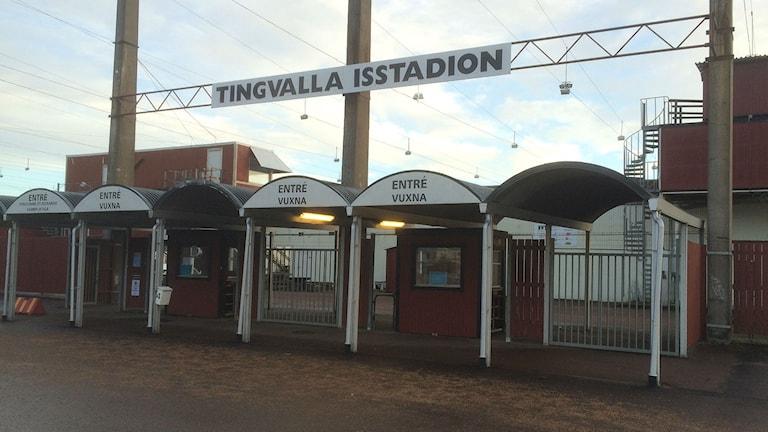 Tingvalla isstadion i Karlstad. Foto: Magnus Hermansson/Sveriges Radio.
