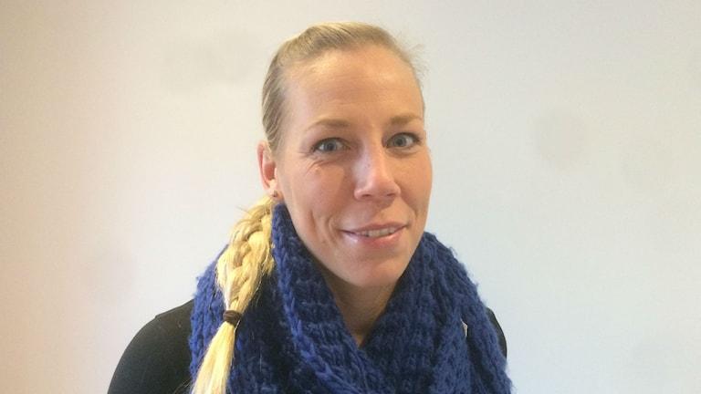 Linda Johansson. Foto: Magnus Hermansson/Sveriges Radio.