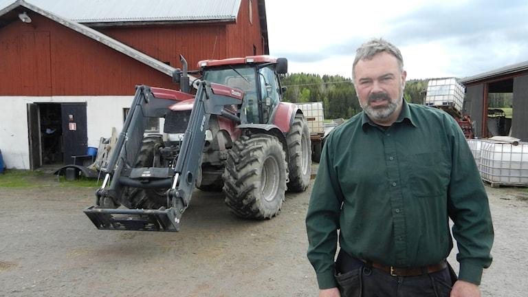 Patrik Ohlsson Ordförande LRF Värmland. Foto Roy Malmborg Sveriges Radio.
