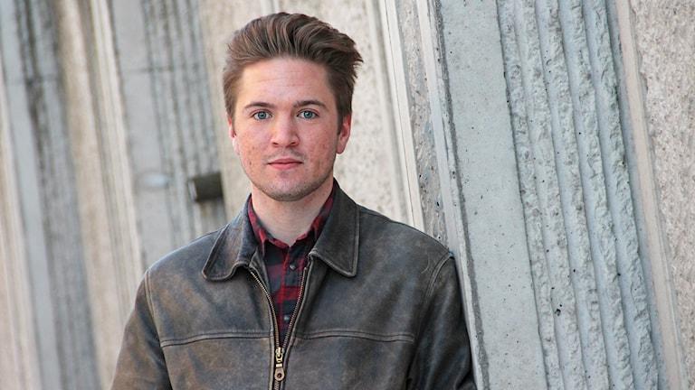 Nils Ahlqvist. Foto: Lars-Gunnar Olsson/Sveriges Radio.