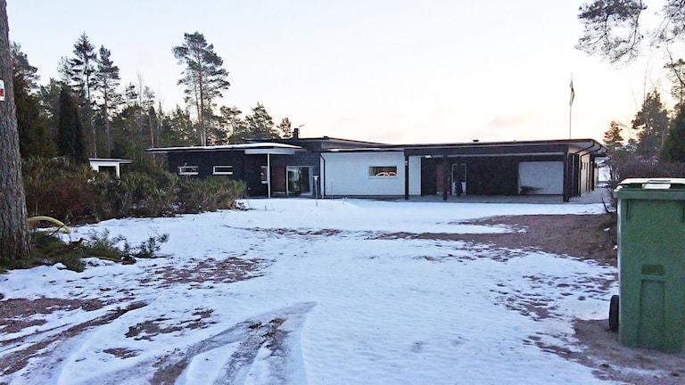 Villa Soludden, Laxdalen 542, Hammarö. Foto: Örjan Bengtzing/Sveriges Radio.