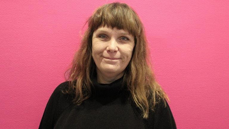 Cathrine Kvarnström. Foto: Jonas Hansson/Sveriges Radio.