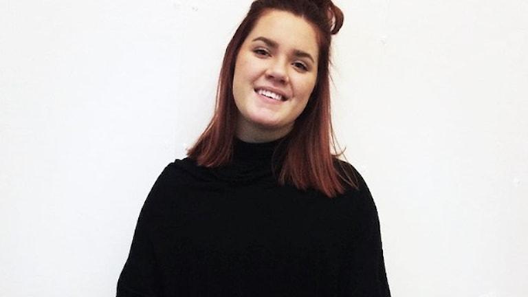 Evelina Sundfeldt. Foto: Sara Johansson/Sveriges Radio.