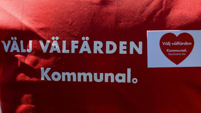 Kommunal. Foto: Bertil Ericson/TT.