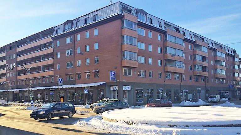 astighet Östra Torggatan Norra Strandgatan i Karlstad. Foto: Jenny Tibblin/Sveriges Radio.