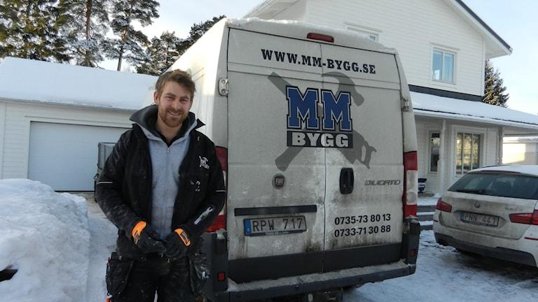 Markus Granroth på MM Bygg i Skoghall tror att det kommer att bli ungefär som tidigare år