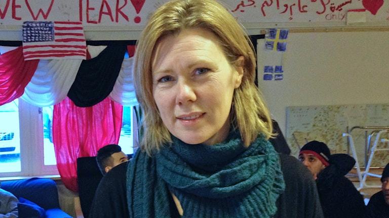 Kavina Thorslund. Foto: Robert Ojala/Sveriges Radio.