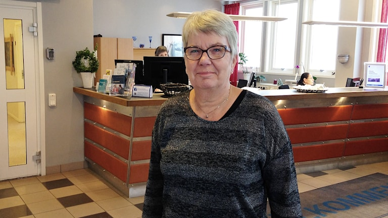 Ann-Katrin Nilsson. Foto: Robert Ojala/Sveriges Radio.