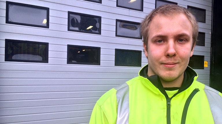 Markus Jansson, BK Jösse. Foto: Jenny Tibblin/Sverigesradio