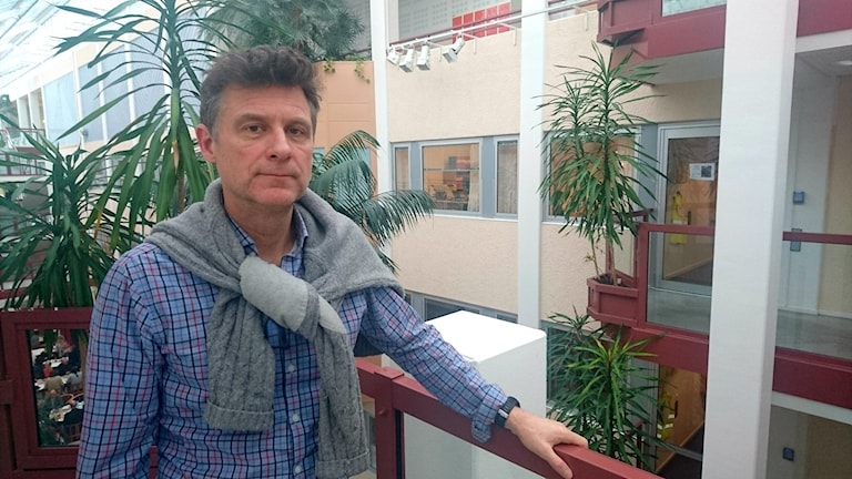 Tomas Philipp, kommunikationschef på landstinget. Foto: Frida Jansson Högberg/Sveriges Radio
