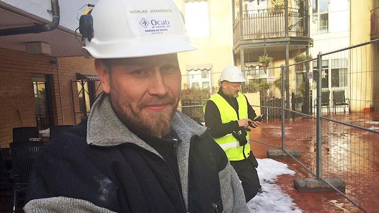 Nicklas Johansson, Ocab. Foto: Jenny Tibblin/Sveriges Radio.