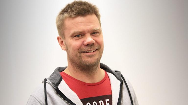 Anders Fredriksson, kartläsare till Eyvind Brynildsen. Foto: Örjan bengtzing/Sveriges Radio.
