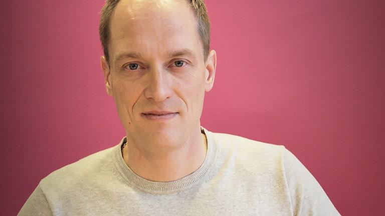 Glenn Olsson. Foto: Lars-Gunnar Olsson/Sveriges Radio.