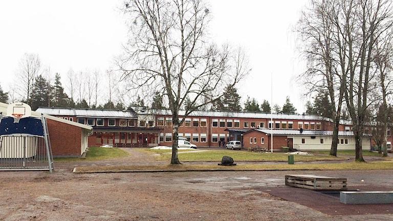 Jättestensskolan i Grums. Foto: Jenny Tibblin/Sveriges Radio.