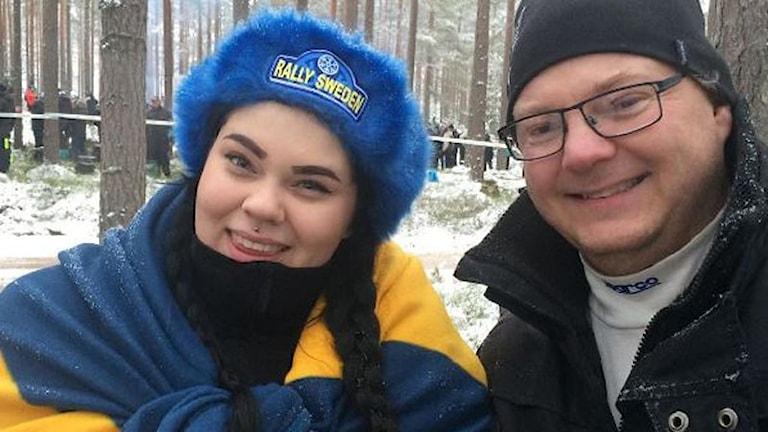 Familjen Fredriksson. Foto: Jenny Tibblin/Sveriges Radio