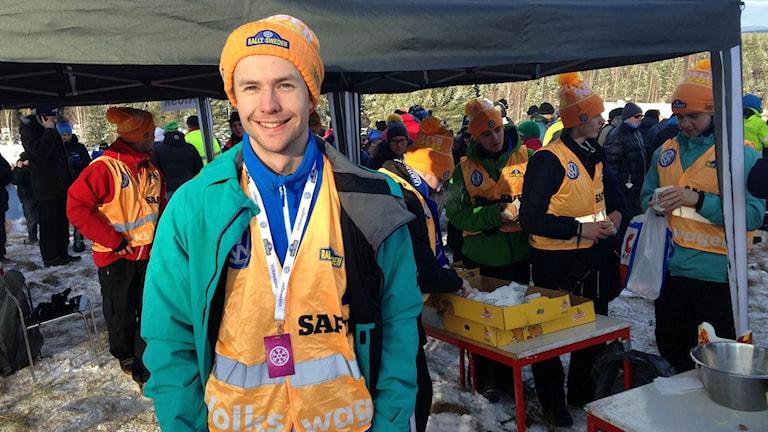 Mikael Svedin. Foto: Robert Ojala/Sveriges Radio