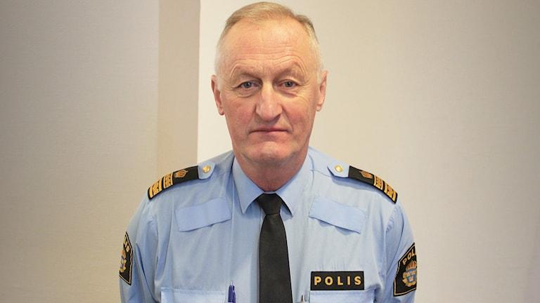 Orla Kristoffersson, Polisen i Värmland. Foto: Lars-Gunnar Olsson/Sveriges Radio.