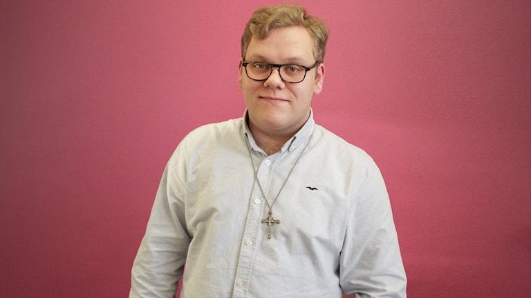 Simon Sjögren, Borgerlig framtid. Foto: Lars-Gunnar Olsson/Sveriges Radio.